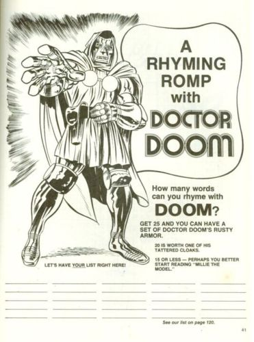 a rhyming romp with doctor doom 371x500 a rhyming romp with doctor doom