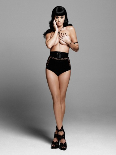 Katy Perry is topless 375x500 Katy Perry is topless