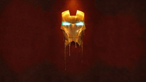 melting iron man mask 500x281 melting iron man mask