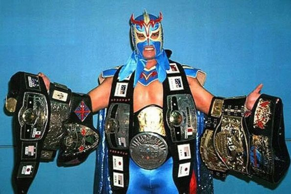 Ultimo Dragon has many belts 1024x682 Ultimo Dragon has many belts