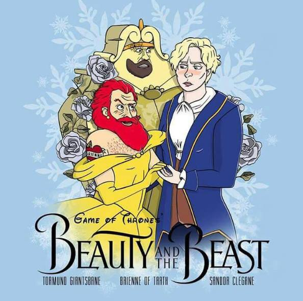 game of thrones beauty and the beast game of thrones   beauty and the beast