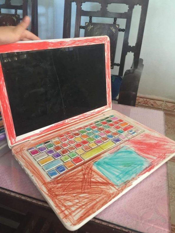 leaving your laptop open around your kids leaving your laptop open around your kids