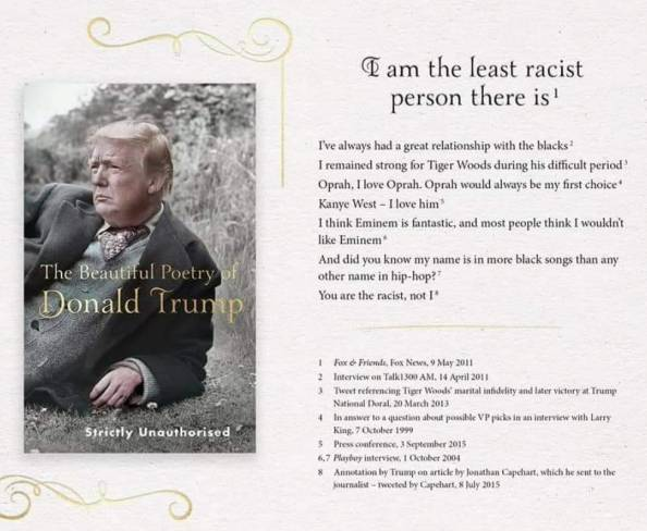 The Beautiful Poetry of Donald Trump The Beautiful Poetry of Donald Trump