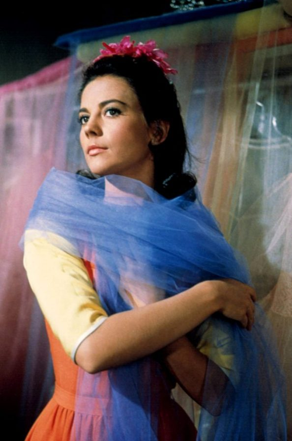 Natalie Wood in a blue thing 677x1024 Natalie Wood in a blue thing