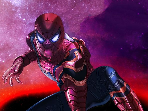 Armored Spider-man