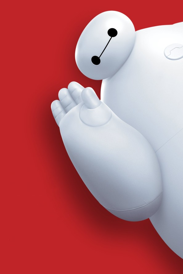 Baymax from the right