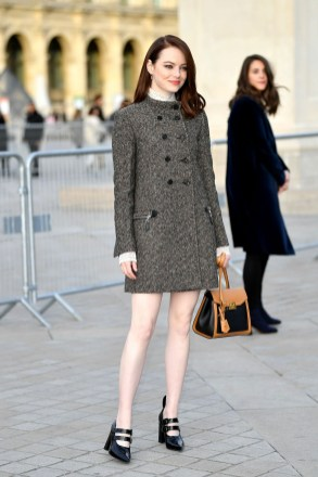 Emma Stone – Louis Vuitton Show Paris March 5th 2019