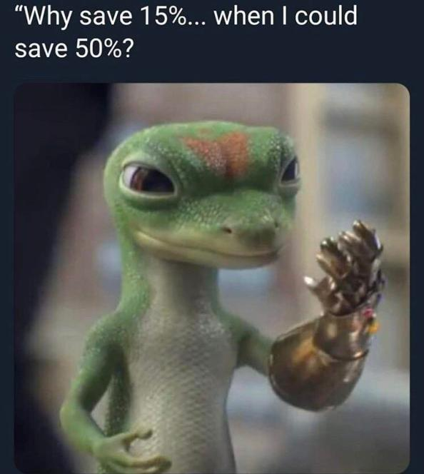 Why save 15 when you can save 50