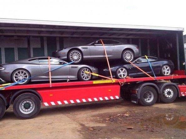 transporting expensive cars