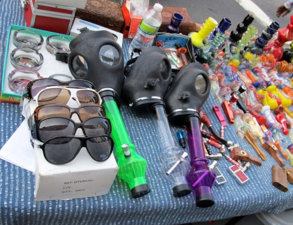 gas masks intended to be used to inhale pot