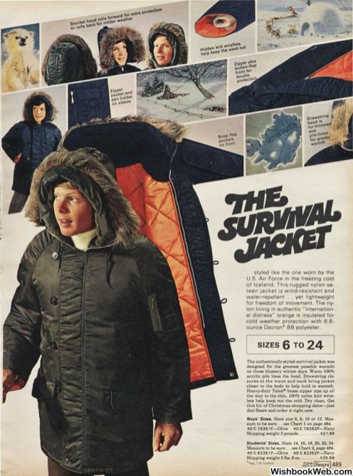 THE SURVIVAL JACKET