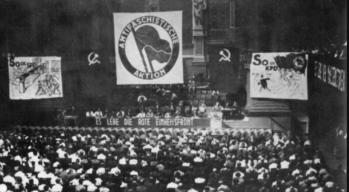 The original Antifa was a paramilitary wing of the German Communist Party in the 1930s