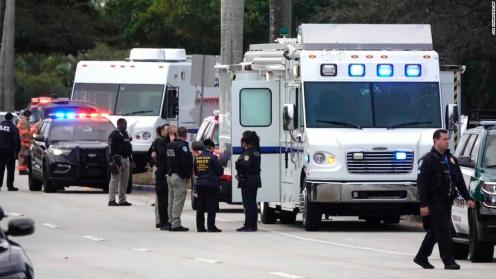 Two FBI agents killed and three agents injured in shootout in Sunrise Florida
