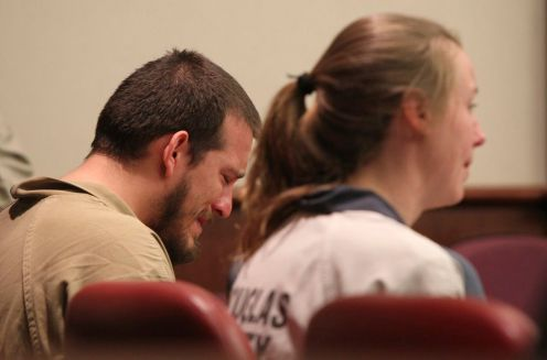 Georgia pair sentenced to combined 35 years for terrorizing black child's birthday party with Confederate flags