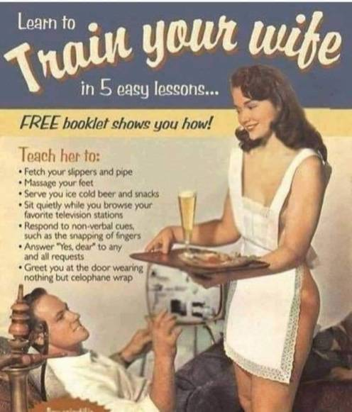 TRAIN YOUR WIFE