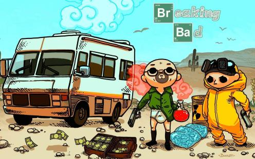 Breaking Bad Chibi