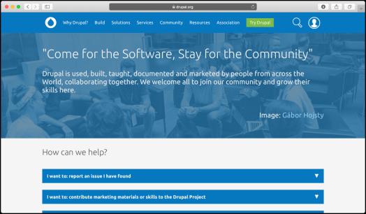 screenshot of beta homepage