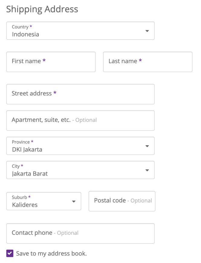 Address For Indonesia Drupal Org