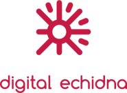 logo for digital echidna