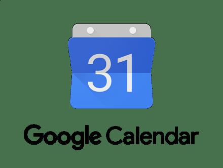 Google calendar app logo