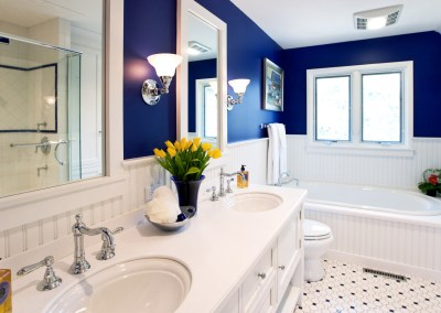 A Small Master Bath with a Big Vision