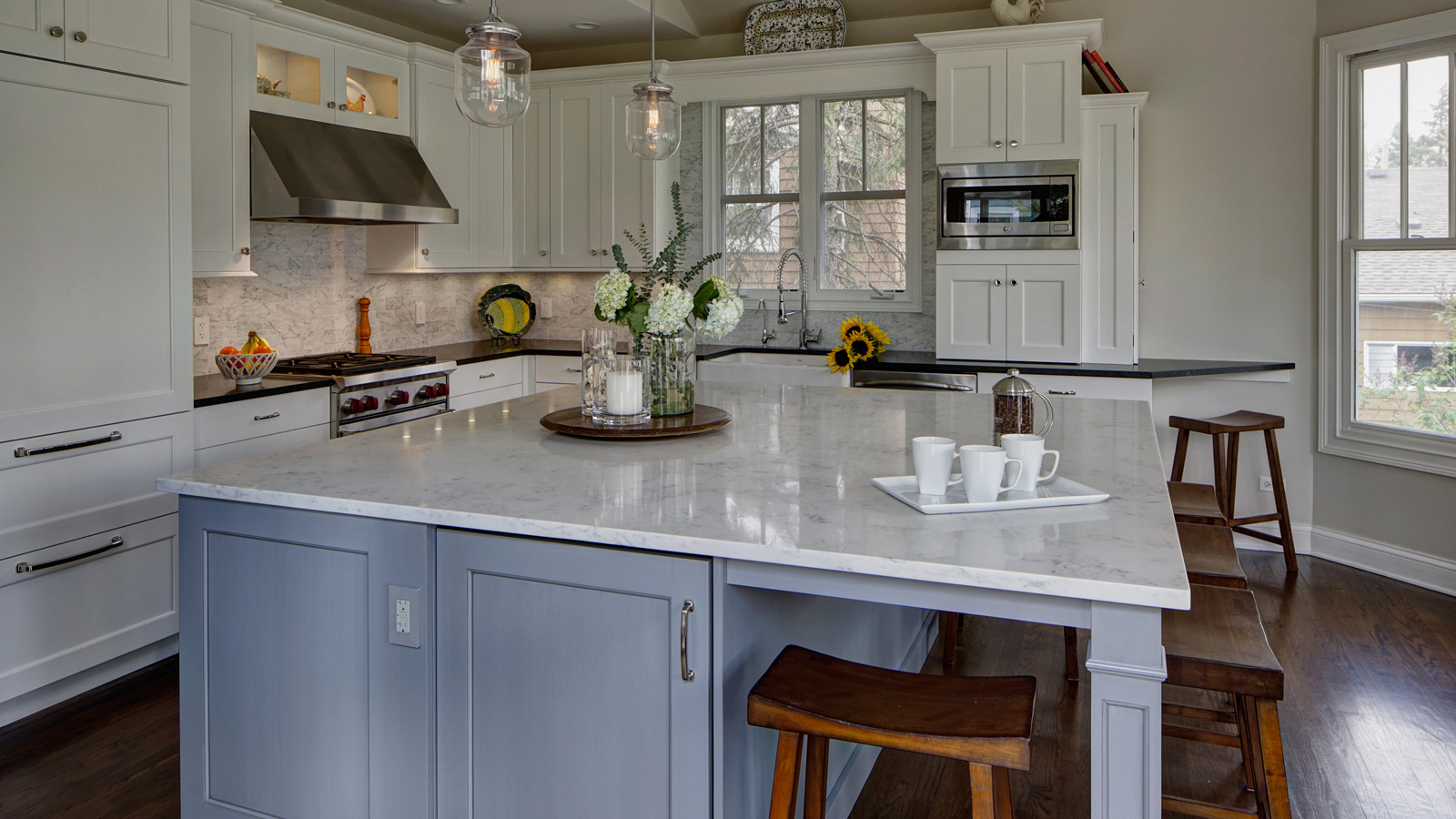 Classically Inspired Traditional Kitchen Design - Lombard ... on Traditional Kitchen Decor  id=90306