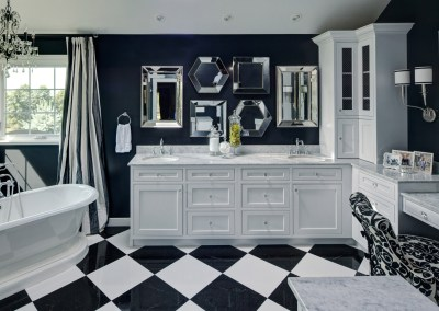 Elegant Parisian Inspired Master Bath