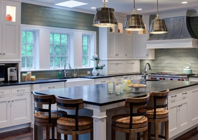 Traditional Cottage Kitchen with a Twist in Glenview