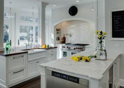 Vintage Hinsdale Home Kitchen Renovation