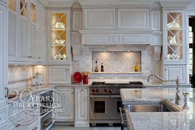 Traditional Burr Ridge Luxury Kitchen Remodel | Drury Design Chicago