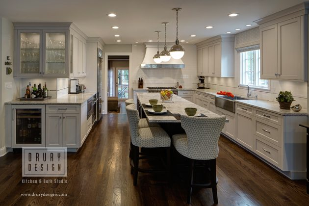 Open Concept L-Shaped Kitchen: Before and After