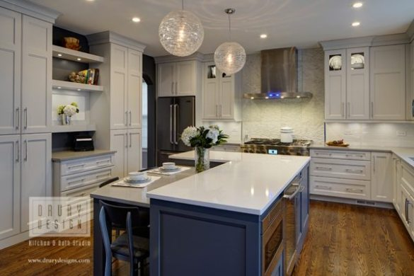What Is A  Pro Chef s Kitchen Design     Drury Design pro chef kitchen design work triangles for two cooks drury design