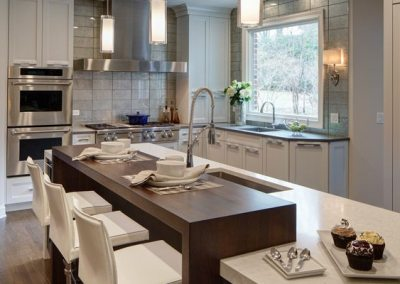 Contemporary Suburban Kitchen Remodel