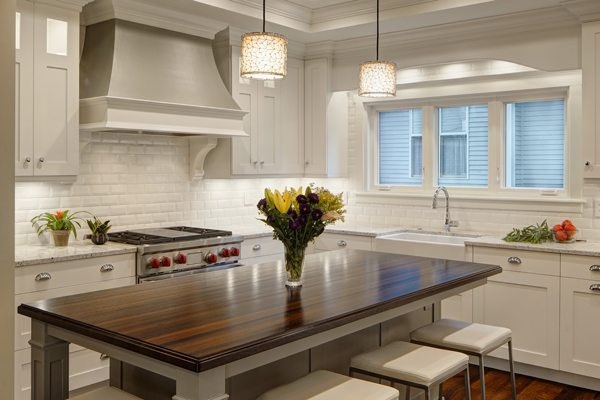 Grothouse Feature | Custom Wenge Wood Countertop in Hinsdale, IL