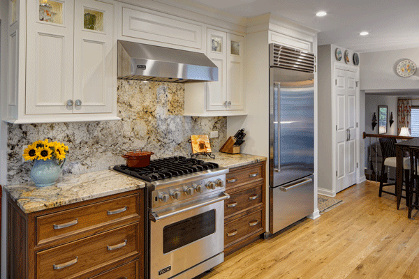 Glamorous Galley Kitchen Remodel