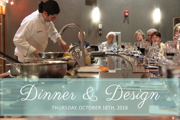 Dinner & Design Wolf Demo Event October 18th 2018