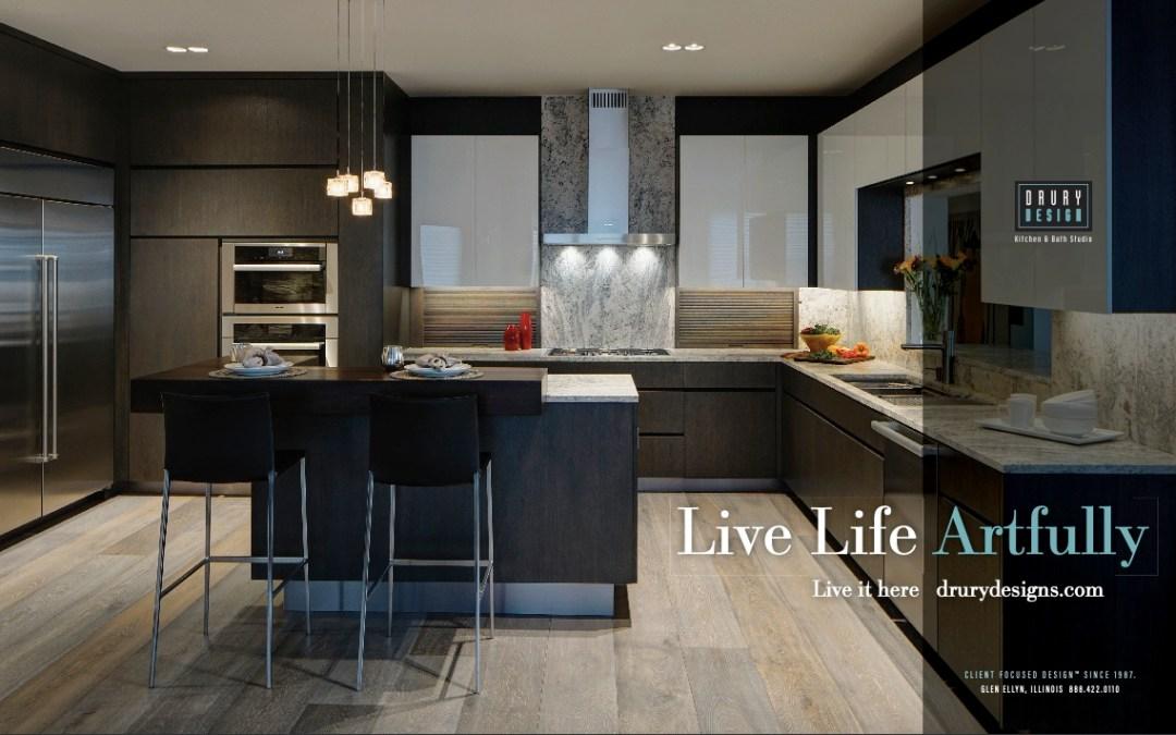 2019 Drury Design Kitchen & Bath Ads