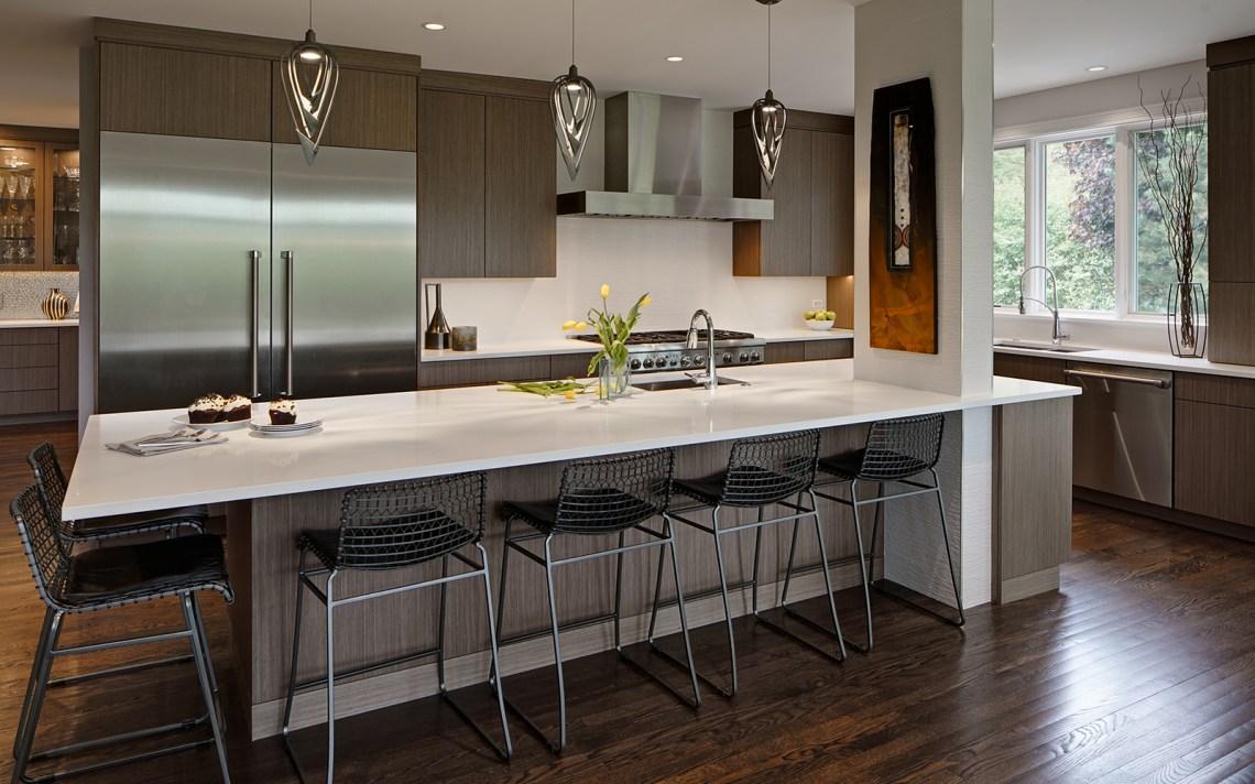 Open and Modern Kitchen Design - Drury Design