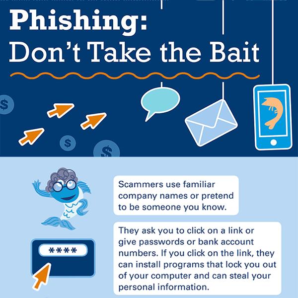Phishing Don't Take the Bait