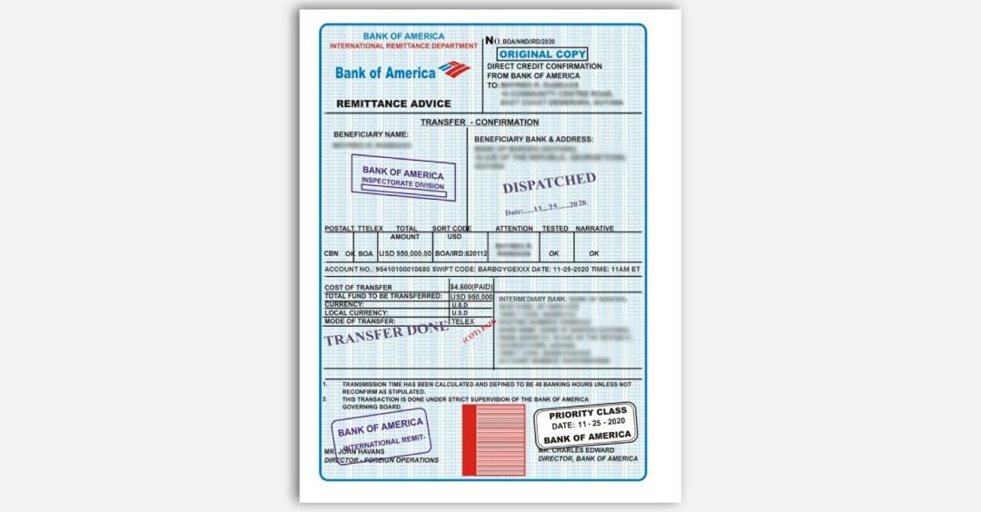 FTC impersonator scam fake remittance order