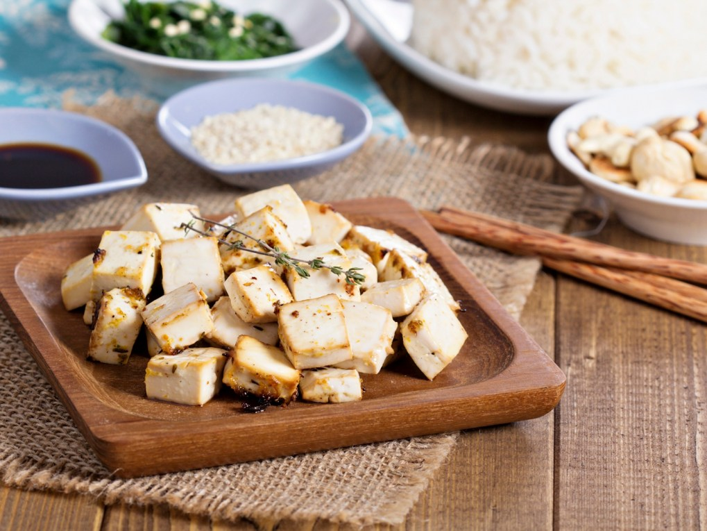 Tofu source de calcium
