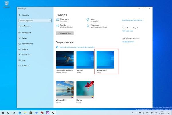 Windows Light: Ein kleiner Rundgang durch das neue Design ...