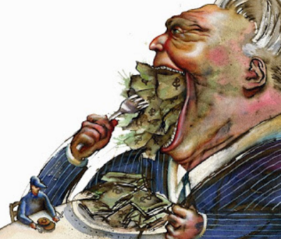 money eating mortgager
