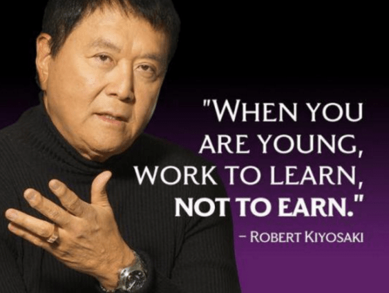 work to learn