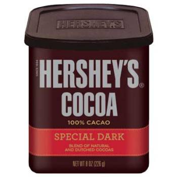 HERSHEYS COCOA,special dark blend of natural and dutched cocoas,(226g)