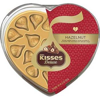 Hershey's Kisses Hazelnut Deluxe Gift Pack Chocolates, 155g [18 counts]