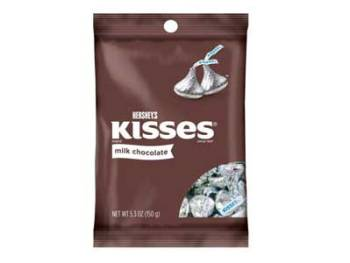 Hershey's Kisses Milk Chocolate, 150g