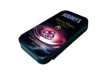 Hersheys Special Dark Pure Chocolate Luscious Pearls 50g Tin Pack!