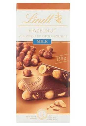 Lindt Milk Bar, Hazelnut, 150g