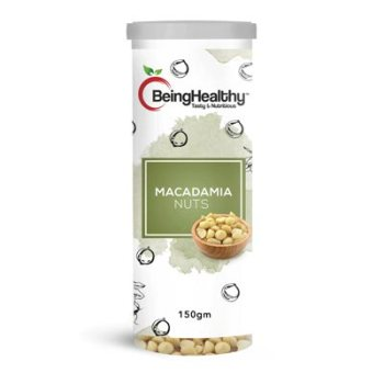 Being Healthy Macadamia Nuts 150g 1